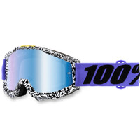 100% Ac Brentwd Mir Bl Goggles