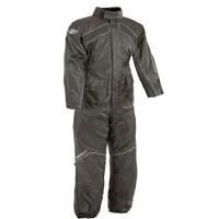 Joe Rocket RS 2 Two Piece Rainsuit Black