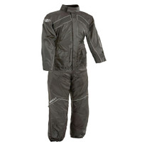 Joe Rocket RS 2 Two Piece Rainsuit Black