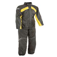Joe Rocket RS 2 Two Piece Rainsuit Yellow