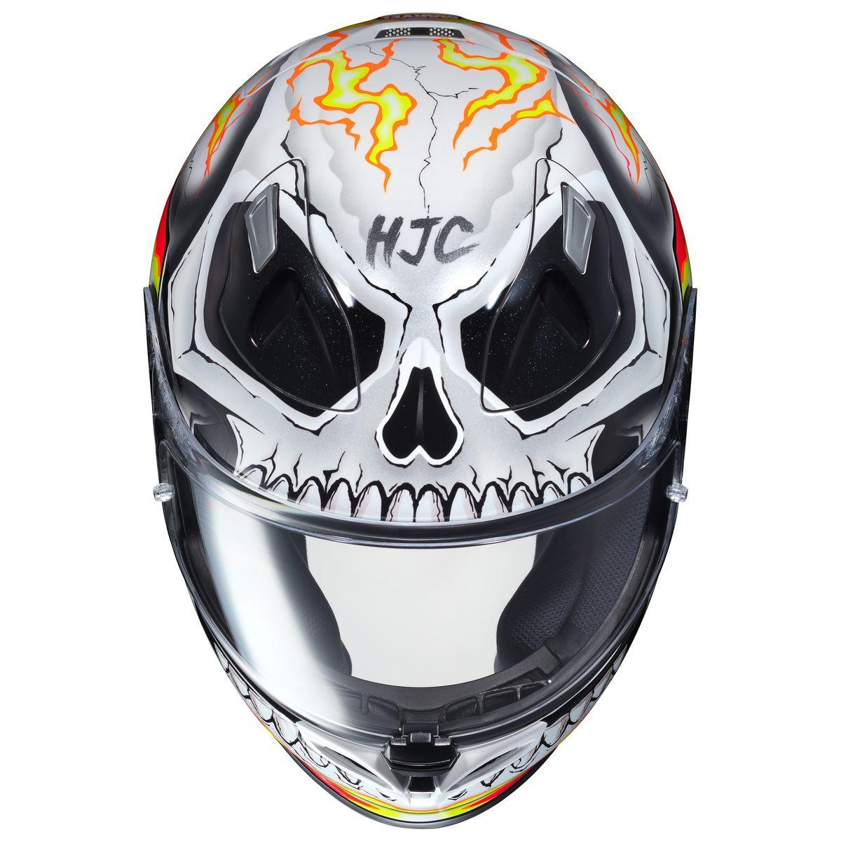 hjc fg 17 ghost rider helmet motorcycle house. Black Bedroom Furniture Sets. Home Design Ideas