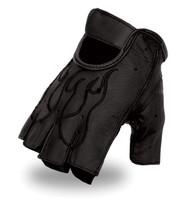 First Classics Men's Flame Fingerless Gloves