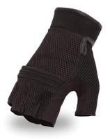 First Classics Men's Textile Fingerless Glove Main View