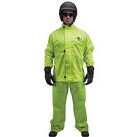 Black Brand Hi-Vis Rain Suit 1