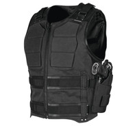 Speed and Strength Men's True Grit Armored Vest Black Main View