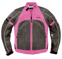 Vega Mercury Ladies Mesh Pink Jacket