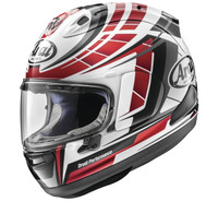 Arai Corsair-X Planet Helmet Red