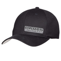 Throttle Threads Black Curved Pu Cap