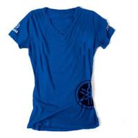 Factory Effex Yamaha V-Neck Women's T-Shirt