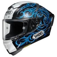 Shoei X-14 Kagayama 5 Helmet Blue