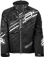 Arctiva S8 Comp Jacket Black/White