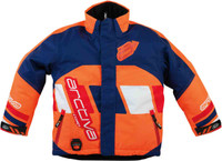 Arctiva Youth S7 Comp Insulated Jackets Orange