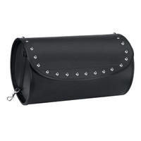 Nomad USA Revival Series Studded Motorcycle Sissy Bar Bag Solo Bag