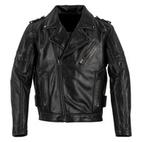 Black Brand Men's Carnivore Leather Jacket Main View