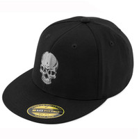 Black Brand Men's Skull Flex Hat