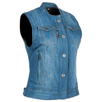 Speed and Strength Women's Glory Daze Denim Vest