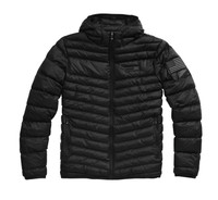 100% Men's Delta 1 Puffer Hooded Zip Jacket 01