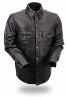 First Classics Milestone Men's Lightweight Leather Shirt
