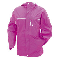 Frogg Toggs Women's Java Toadz Rain Jacket Pink View