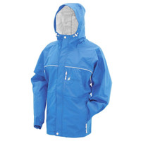 Frogg Toggs Women's Java Toadz Rain Jacket Blue View