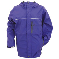 Frogg Toggs Women's Java Toadz Rain Jacket Purple View