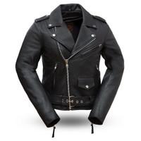 First Classics Rock Star Classic Women's Biker Jacket