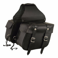 FMC Genuine Leather Saddlebags