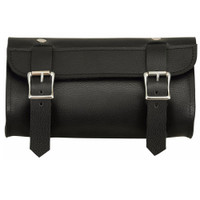 FMC Genuine Leather Double Strap Tool Bag