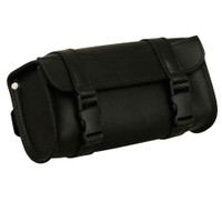 FMC Leather Double Strap Tool Bag