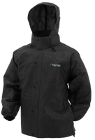 Frogg Toggs Pro Action Rain Jacket Black View