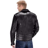 Viking Cycle Dark Age Motorcycle Jacket for Men Back View