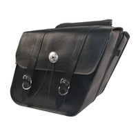 Willie & Max Deluxe Standard Slant Saddlebag Set-SB700