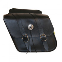 Willie & Max Deluxe Compact Slant Saddlebag Set- SB707