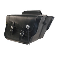 Willie & Max Deluxe Large Slant Saddlebag Set-SB718