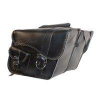 Willie & Max Large Slant Saddlebags