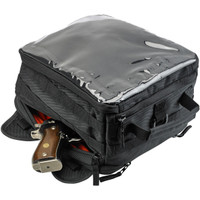 Biltwell EXFIL-11 Black Motorcycle Bag 08