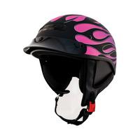 Zox Alto Custom Hot Rod Half Helmet