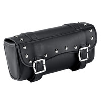 Vikingbags Leather Studded Fork Bags