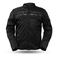 First Classics Men's Textile Savage Skulls Jacket