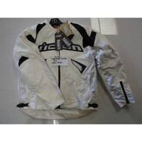 Icon Sanctuary Leather Jacket White