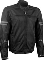 Highway 21 Turbine Jacket Black Main View