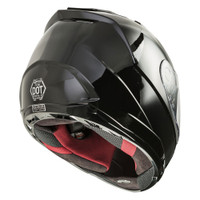 G-Max FF-88 Full Face Solid Street Helmet Side View