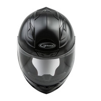 G-Max FF-88 Full Face Solid Street Helmet Front View