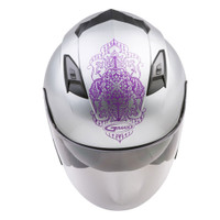 G-Max OF-77 Open Face Eternal Helmet For Women's