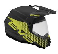 EVS T5 Dual Sport Venture Arise Off Road Helmet For Men's Matte Black View