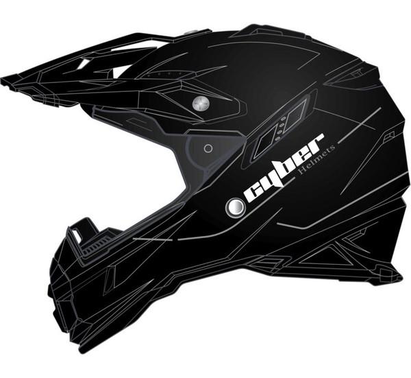 Cyber UX-28 Off Road Helmets For Men's Black View