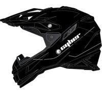 Cyber UX-28 Off Road Helmets For Men's Matte Black View