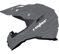 Cyber UX-28 Off Road Helmets For Men's Silver View