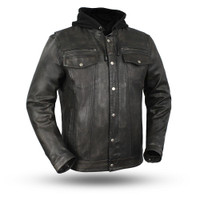 First Classics Vendetta Men's Motorcycle Jacket