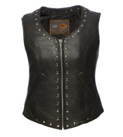 First Classics Women's Empress Leather Vest